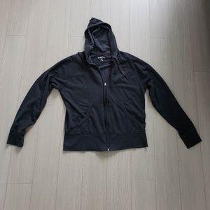 Eddie Bauer fleece lined zippie/hoodie! (M)